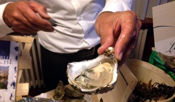 Apertura ostriche