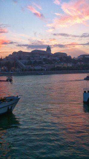 Tramonto su Budapest