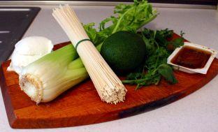 Ingredienti pad thai vegetariano  a modo mio