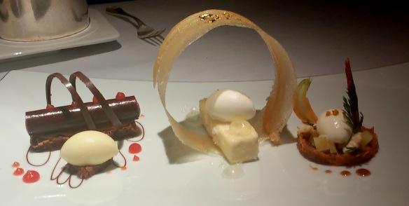 Assiette de l'Aubergine @ Restaurant Gordon Ramsay