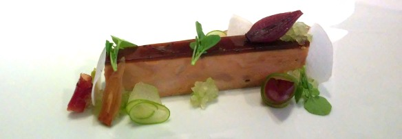 Pressed foie gras @ Restaurant Gordon Ramsay