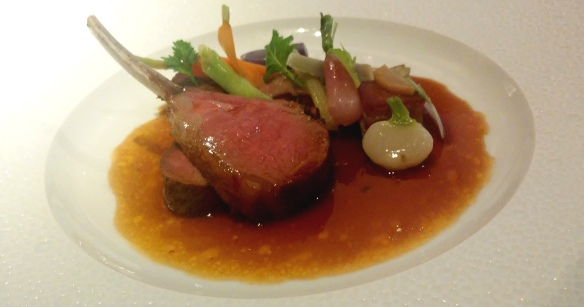 Cotswold lamb @ Restaurant Gordon Ramsay