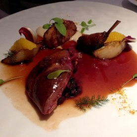 Roast pigeon @ Restaurant Gordon Ramsay
