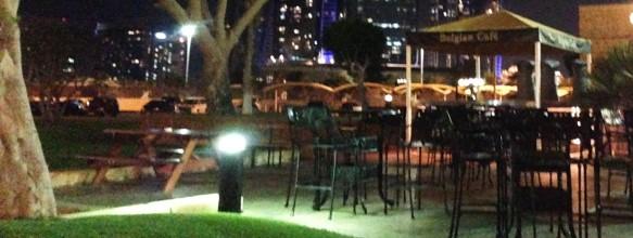 Garden @ Belgian Cafe Abu Dhabi