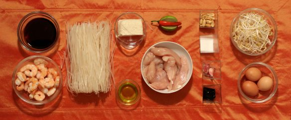 pad thai ingredienti