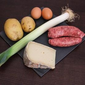 Ingredienti Torta salata salsiccia